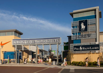 Photo of Toronto Premium Outlets Front Facade