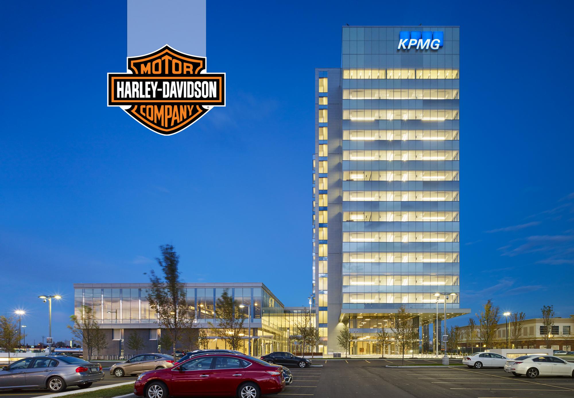 KPMG Tower , Harley Davidson
