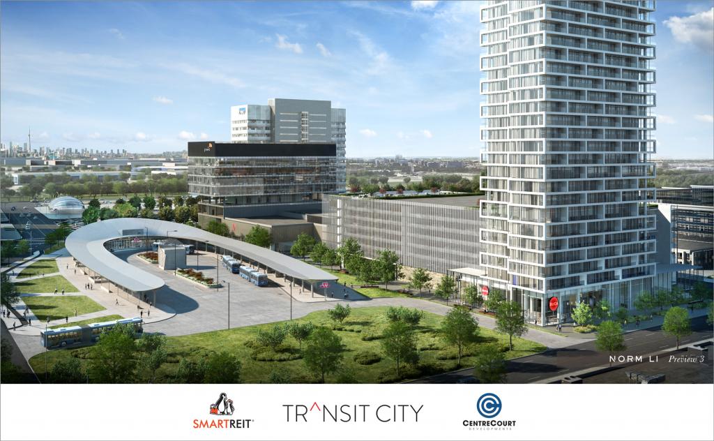 Transit City Condo Rendering