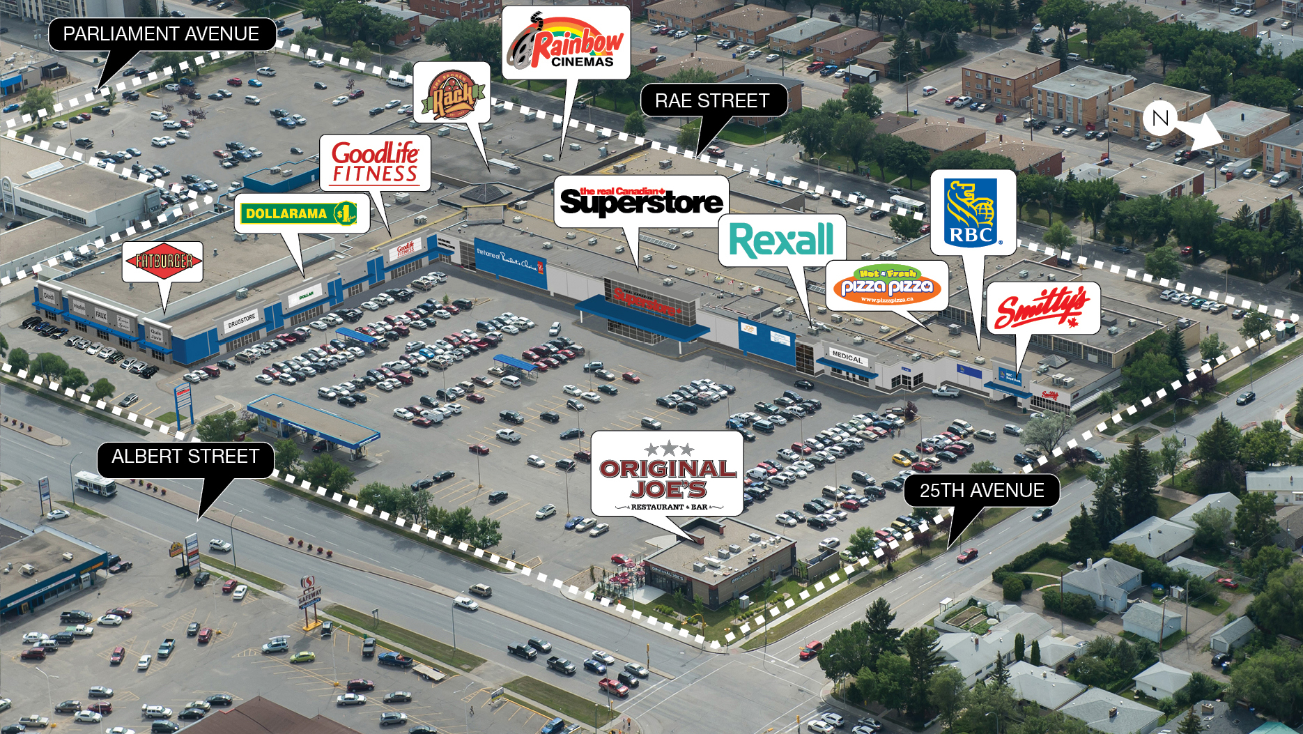 Regina Golden Mile Shopping Centre Sk Smartcentres